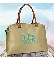 Khaki Weekender Bag #R803-KHAKI