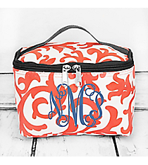 Coral Ivy Damask Case with Gray Trim #RMC277-GRAY