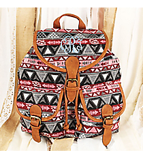 Pink, Red, and Gray Egyptian Daze Backpack #RY-812A-C109-PK