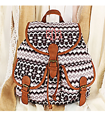 Purple Aztec Backpack #RY-812A-C68-PUR