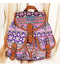 Painted Desert Backpack #RY-W081-YB1105-PK