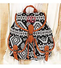 Spicy Southwest Black Backpack #RY812-C19-BK-1