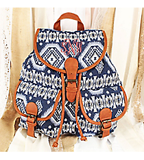 Spicy Southwest Blue Backpack #RY812-C20-BL-1