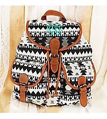 Nevada Nights Black Backpack #RY812A-BK-1