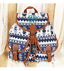 Nevada Nights Blue Backpack #RY812A-BL-1