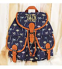 Blue Lagoon Backpack #RY-W081-1460-1-BL-1