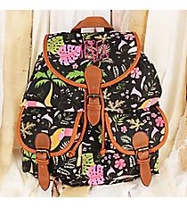 Toucan Tango Black Backpack #RYW081-B296-2-BK-1