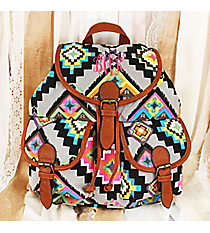 Mosaic Mirage Backpack #RYW081-FH-144-1-BG-1