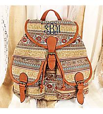 Romantic Garden Backpack #RYW081-K1432-1-TP-1