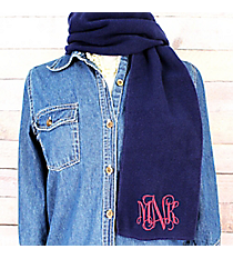 Navy Fleece Scarf #SCF1100-NAVY