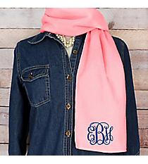 Pink Fleece Scarf #SCF1100-PINK