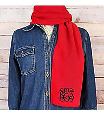 Red Fleece Scarf #SCF1100-RED