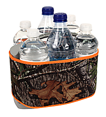 Mossy Oak with Orange Trim Cover and 6-Pack Cooler Set #SCVR-MOO