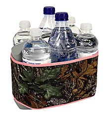 Mossy Oak with Pink Trim Cover and 6-Pack Cooler Set #SCVR-MOP