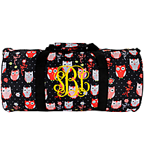 Hoot-Winked Roll Duffle Bag #SD-1321