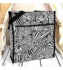 Zebra Shopper Tote #SH13-#804