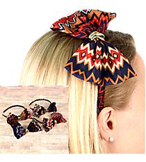 One Aztec Chevron Bow Headband #SH2771-SHIPS ASSORTED