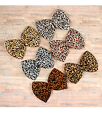 One Large Leopard Hair Clippy #SL2138-SHIPS ASSORTED