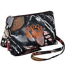 BNB Natural Camo Crossbody Clutch #SN612-BROWN