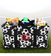 Soccer Collapsible Haul-It-All Basket #SOC401-BLACK