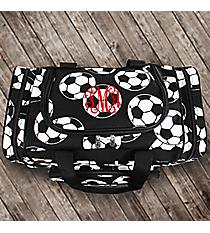 "17"" Soccer Duffle Bag #SOC417-BLACK"