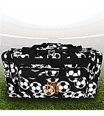 "23"" Soccer Duffle Bag #SOC423-BLACK"
