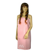Women's Light Pink Spa Wrap #5328