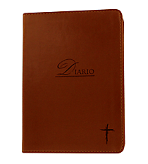 Cross Coffee Brown LuxLeather Flexcover Journal #JL059S Cruz Cafe Flexcover Diario de LuxLeather #JL059S