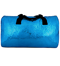 "21"" Turquoise Sequined Duffle Bag #SQB592-TURQ"