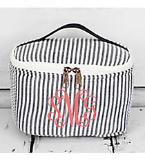 Navy Striped Seersucker Case #SR277-NAVY