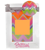 "Rainbow Chevron 4"" x  6"" Sticky Note Frame #0850-46"