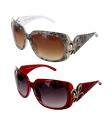 ONE PAIR OF DESIGNER LOOK SUNGLASSES #IN3077