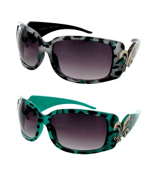 ONE PAIR OF DESIGNER LOOK SUNGLASSES #IN3065