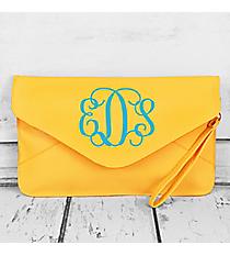 Yellow Envelope Clutch Bag #181080