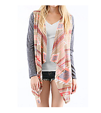 World Traveler Cardigan, Taupe #T12678-1 *Choose Your Size
