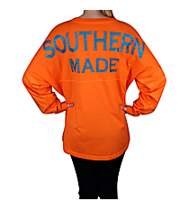 """Southern Made"" Women's Pom Pom Pullover #T14 *Choose Your Colors"
