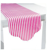 Candy Pink Reversible Table Runner #3/6167
