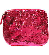 Fuchsia Magic Sequin Mini Tablet Sleeve #74263