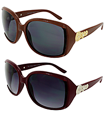 ONE PAIR OF DESIGNER LOOK SUNGLASSES #TD504