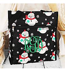 Snowman Shopper Tote #TH3013-550