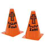 One Dozen Inspirational Traffic Cones #36/4143