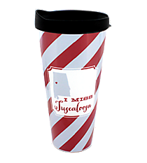 """I Miss Tuscaloosa"" 22 oz. Double Wall Tumbler with Straw #F132854"
