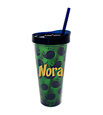 Whales 22oz. Double Wall Tumbler with Straw #F137232