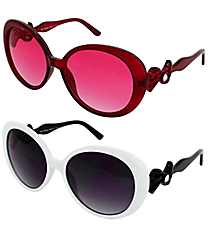 ONE PAIR OF DESIGNER LOOK SUNGLASSES #VIVA4EVER1080