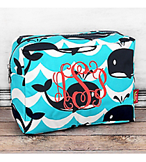 Oh Whale! Cosmetic Case #WCO613-NAVY