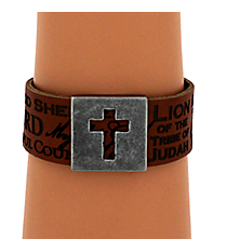 Names of Jesus Leather Wriststrap #WRL017