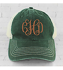 Forest Washed Trucker Cap #ZK641