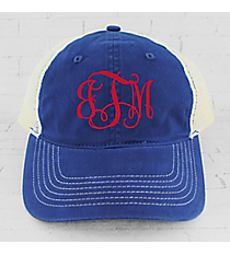 Royal Washed Trucker Cap #ZK641